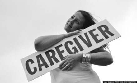 Clear connection between caregiver and care recipient well-being.