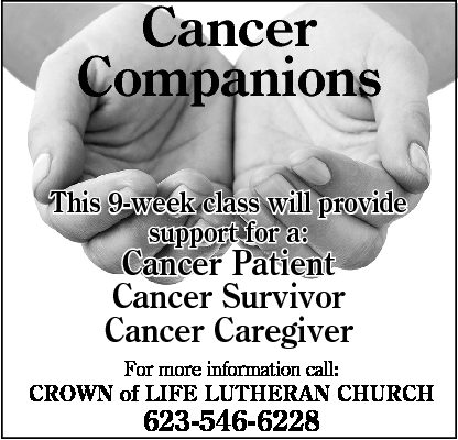 FREE Cancer Companion Group in Sun City West
