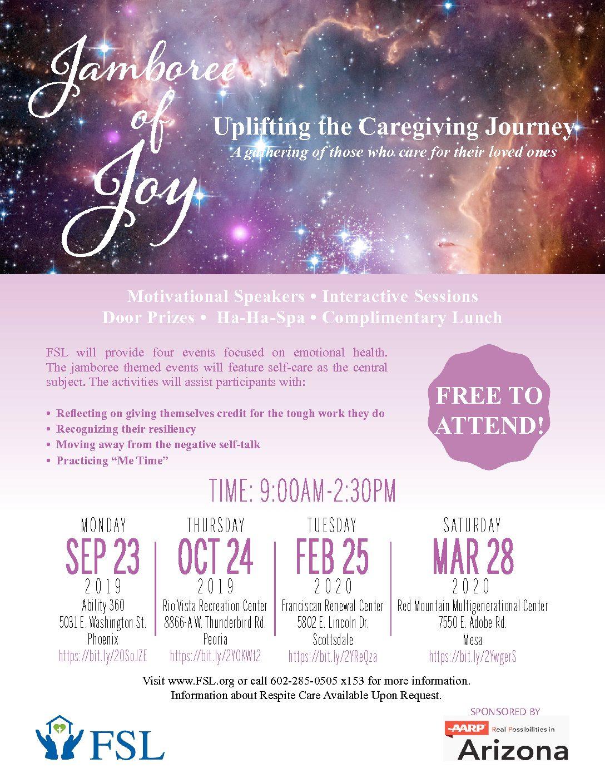 Jamboree of Joy (Uplifting the Caregiving Journey)